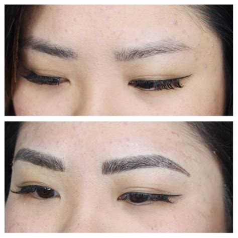 eyebrow tattoo los angeles 43 best microblading 3d brow done by zhang