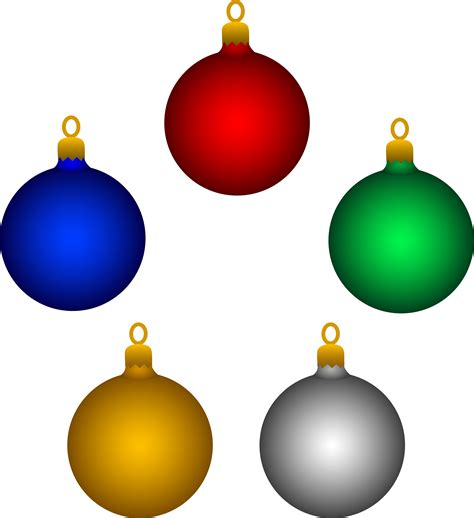 christmas ornaments image cliparts co