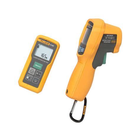 Fluke 62max Infrared Thermometer T1310 3 fluke 414d 62max laser distance meter with infrared thermometer combo kit at the test