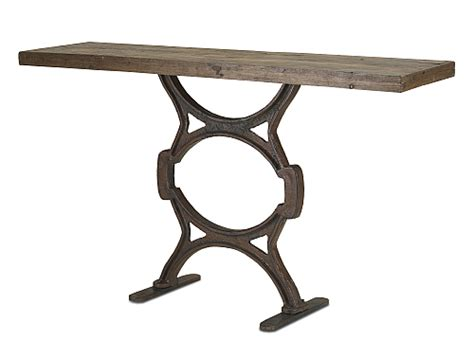 Narrow Foyer Table Rustic Narrow Console Table The Designer Insider
