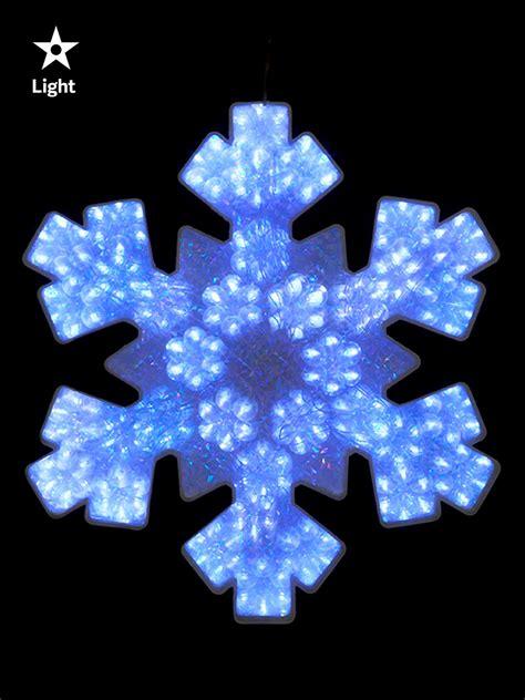 hanging window lights 47cm led snowflake silhouette hanging decoration