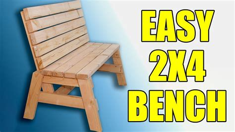 build  sell  easy  garden bench  youtube