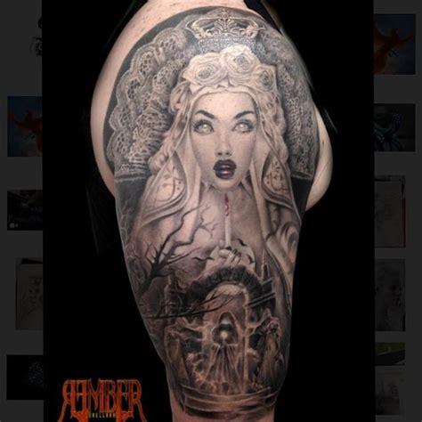 gothic queen by rember dark age tattoo studio tattoos