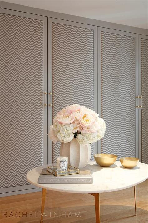 Fabric Closet Doors Marble Top Accent Table Design Ideas