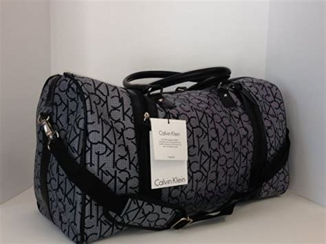 Calvin Klein Jackie Medium Duffle Nwt nwt calvin klein luggage large travel bag duffle tote buy in uae products in the uae