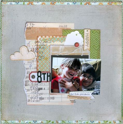 scrapbook layout basics 17 best images about scrapbooking basic grey clippings