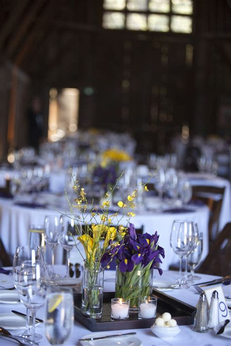 Best 127 My Purple Yellow Wedding Inspiration Images On Purple And Yellow Wedding Centerpieces