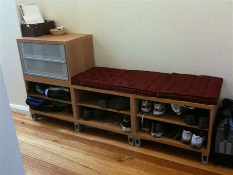 entryway bench with shoe storage ikea 198 best images about hallway mudroom laundry on