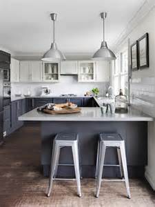 white and grey kitchens white upper cabinets design ideas