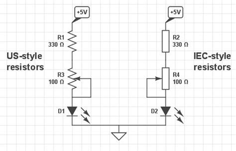 resistor iec international iec european resistor symbols circuitlab