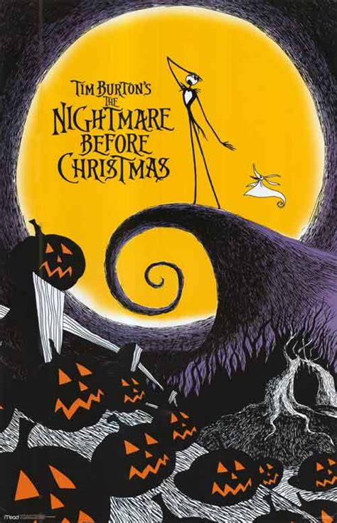 nightmare before christmas movie posters at movie poster