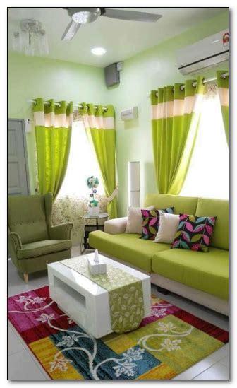 Hiasan Dinding Hiasan Dinding Abstrak Ornamen Rumah Minimalis desain ruang tamu sempit ukuran 3 x 4 warna hijau muda desain rumah unik