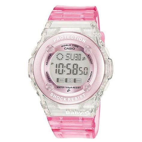G Shock Baby G Transparan Pink casio baby g bg 1302 4er pink world time