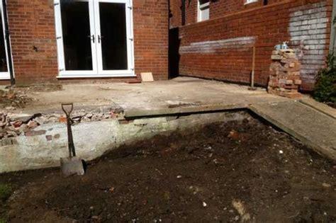 Raised Patio Construction by Garda Construction Raised Patio In Caversham Patio