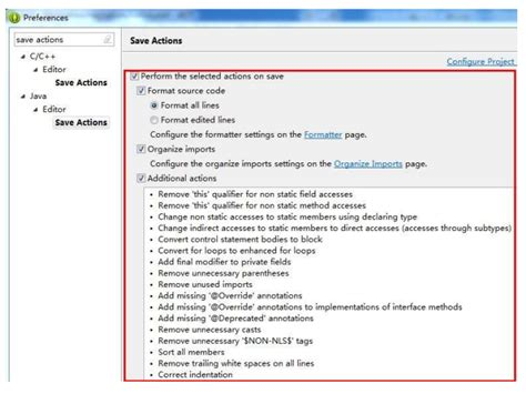 format html eclipse eclipse的自动排版设置 format 掌握当下 博客园