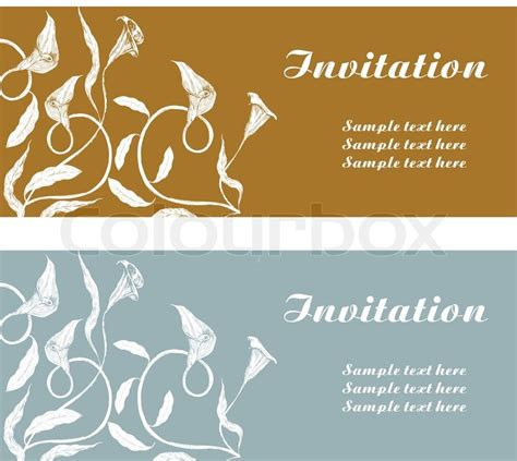 Wedding Card Cover Page by Vintage Background Invitation Card Luxury Greeting Card