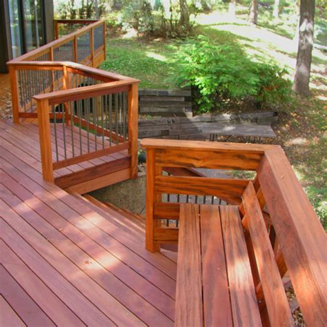 wood deck bench wood and tile product catalog stone wood design center