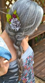 gray hair braided styles even more women sporting fabulous long silver hair
