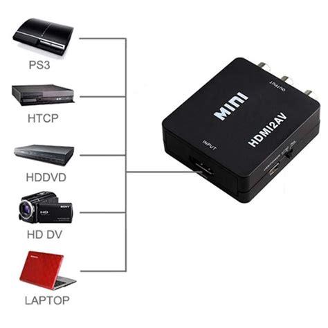 Promo Minibox Av Rca To Hdmi adaptateur rca hdmi