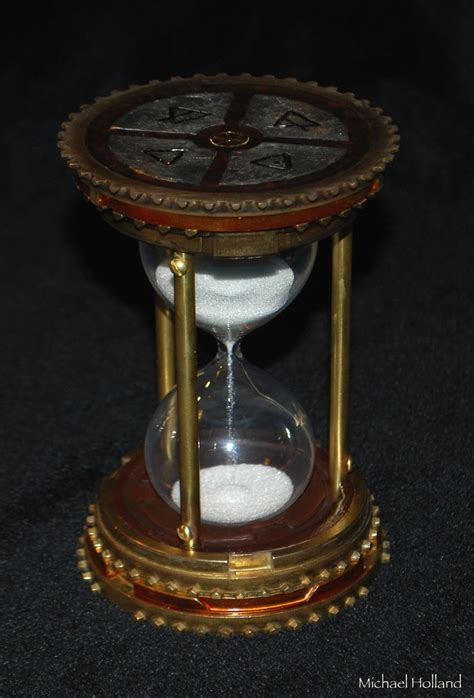 Handmade Decorative - handmade steunk hourglass by michael