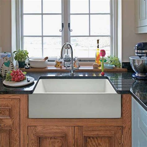 retro kitchen redo apron sink vintage apron and custom randolph morris 24 x 18 fireclay apron farmhouse sink 408