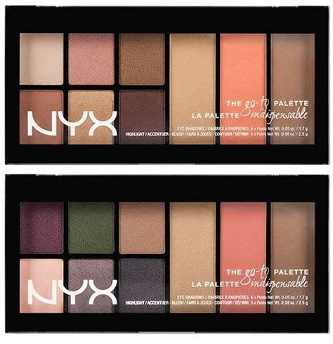 nyx go to palettes for summer 2015 trends and