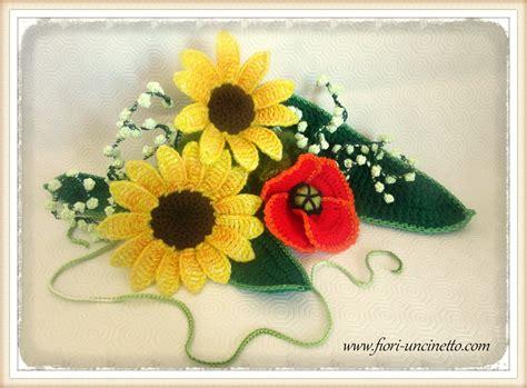 fiori al uncinetto fiori uncinetto crochet flowers fiori all uncinetto