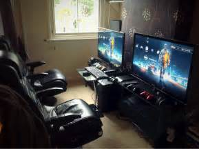 Computer Gaming Room Cool Computer Setups And Gaming Setups