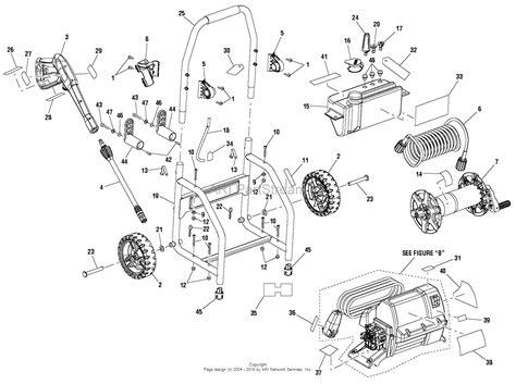 pressure washer parts diagram homelite ps14133 powerstroke pressure washer parts diagram