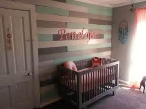 Bedroom Design Ideas For Girls coral and mint arrow theme girls nursery project nursery