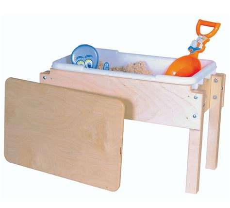 Water Sand Table by Wood Designs Tot Sand Water Sensory Table
