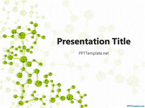 free biology powerpoint templates free biology ppt template