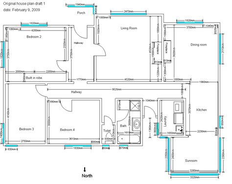 House Blueprints 4 Bedroom House Plans Sle House Plans Drawings House