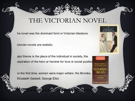 key themes in victorian literature the victorian period introduction