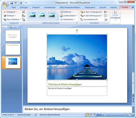 Vorlage Moderne Präsentation Bilder In Powerpoint Pr 228 Sentationen Integrieren Und Bildeffekte