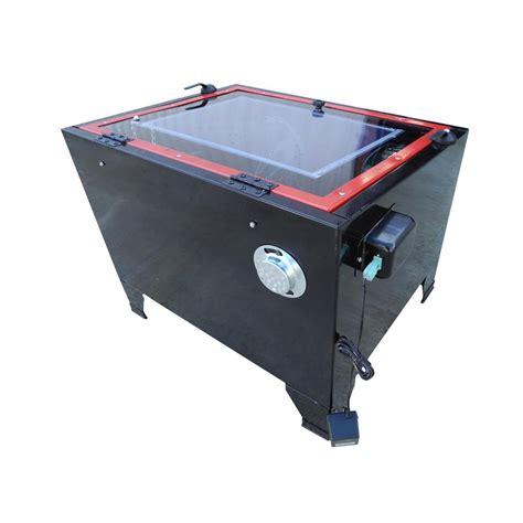benchtop abrasive blast cabinet redline re26 benchtop abrasive sand blasting cabinet