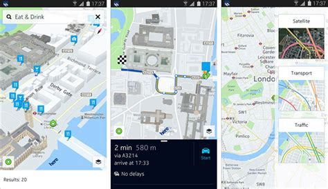 here maps android here maps for android now available pocketnow