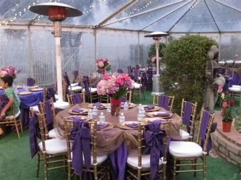 rent a backyard for a party engagement party in backyard all decor done by classe