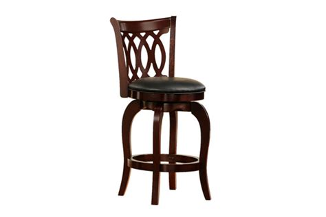 24 Bar Stool With Back Swirl Back 24 Quot Bar Stool At Gardner White