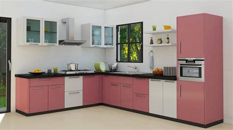 modular kitchen cabinet designs best modular kitchen design l shape smith design