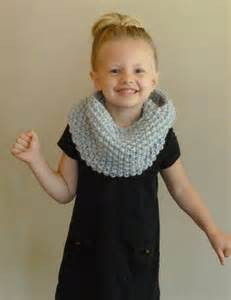 Infinity Scarves For Toddlers Knit Toddler Cowl Choose Color Children S Seed