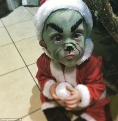 celebrity juice the grinch little mason robinson dresses up as donald trump for