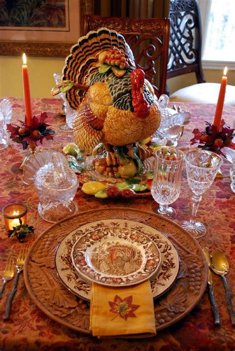 Thanksgiving Tablescapes Design Ideas Decorating For Autumn And A Thanksgiving Tablescape