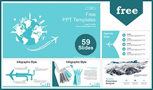 Free Travel Powerpoint Templates Design Travel Powerpoint Template