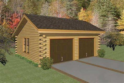 log home with 2 garages log home garage plans linwood two car garage log home plan mywoodhome com