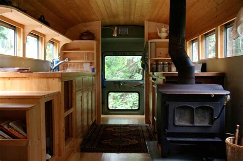 Double Wide Mobile Home Floor Plans Pictures by Bus Converted Into Mobile Home 171 Twistedsifter