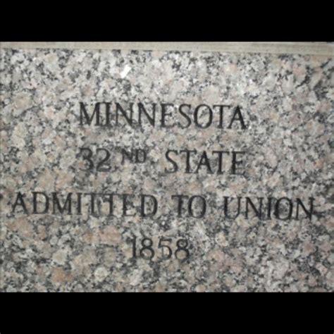 Minnesota The 32nd State by Minnesota 32nd State Admitted To Union 1858 Minnesota