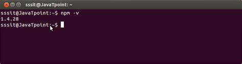 linux tutorial javatpoint install node js on linux ubuntu centos javatpoint