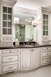 Custom Bathroom Cabinets With Form And Function Plain