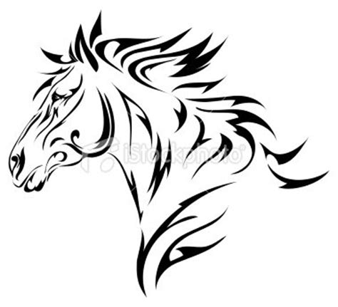 tattoo tribal cheval cheval l art du tatouage significations